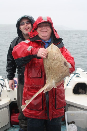 Phil and glenn with one of the blonde rays