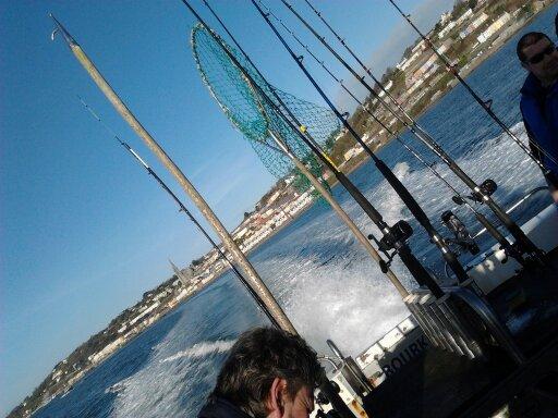Sea angling at Cobh
