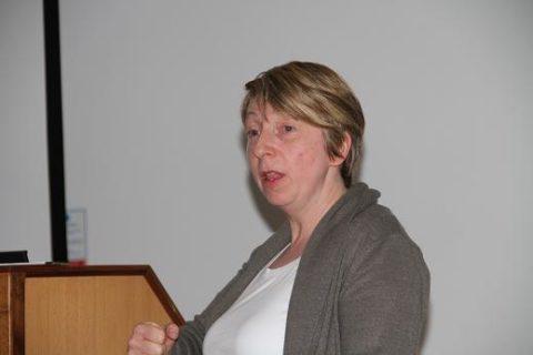 Dr Catherine Mc Gavigan Queens University Belfast Speaking at Tuesday Nights Event