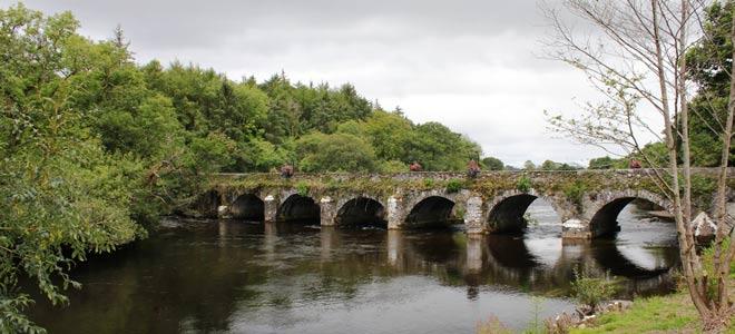 Beaufort Bridge on the River Laune, Co. Kerry