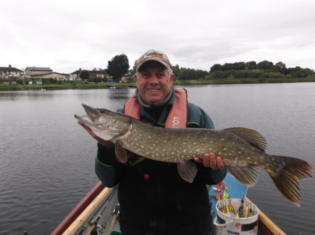A Well Conditioned Pike for Peadar on His New Lures