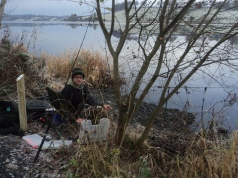 Pike Rigs R Us Battle the Subzero Tremperatures at Concra Wood on Sunday 2nd December