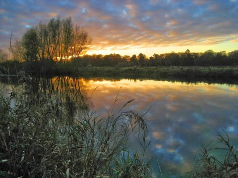 Roly Byrne - Barrow sunset
