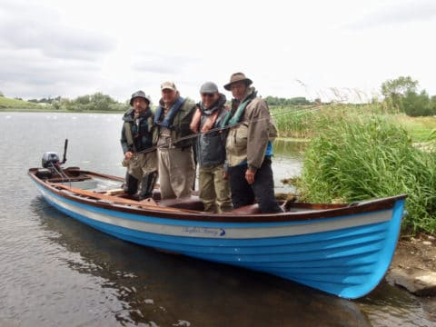 French Fly Anglers Heading Out for Pike Last Week in Carrickmacross