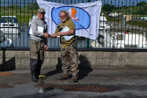 Krystian - 2nd place and the Biggest Fish of the Competition