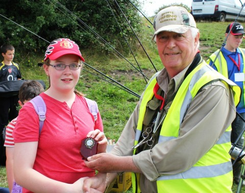 36 Fish Earns This Young Lady Top Honours at Today's Event on the Brothers Lake
