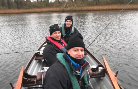 A Group of Russian Angles Fished With Tom Cogan Today in Carrickmacross