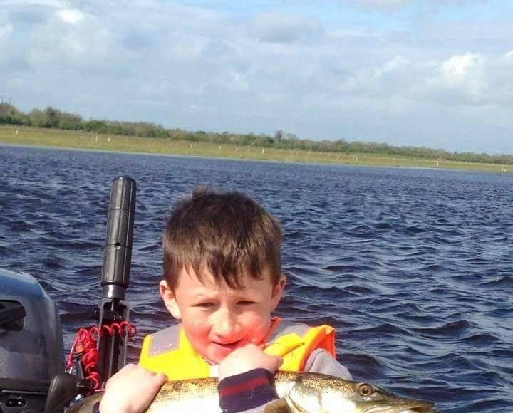 8 year old Dillion is a super little fisherman !