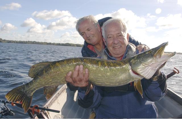 John and Guy Gill from Belgium.