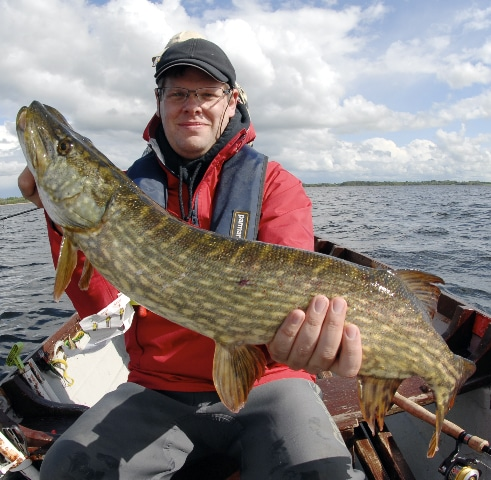 Guillaune Bourst from France with cracking Midland pike