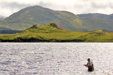 Campbell Baird Fly-fishing in Stunning Surroundings