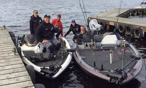 Getting Around Lough Erne is no Problem for Pascal's Bass Boats