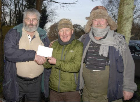 Eddie O'Donnell, Mick Flanagan and Pat O'Brien pictured on Glore