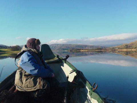 A beautiful winter's day on Lough Allua