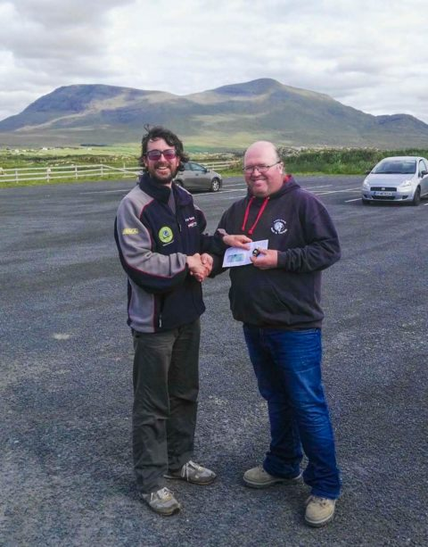 Brian Reidy (left) presents Aidan OHalloran with the Connacht Open Gold Medal for 2017. Congratulations Aidan!