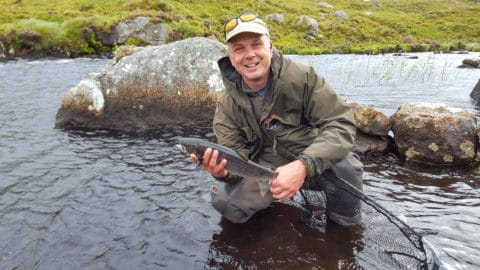 A small grilse off Fermoyle for Neil Spellacy