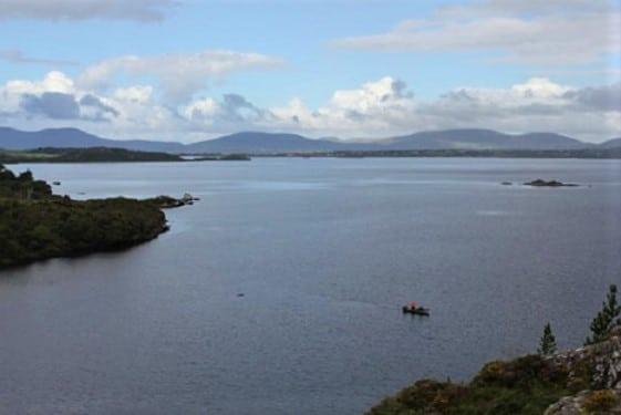 Le Lough Currane dans le Kerry