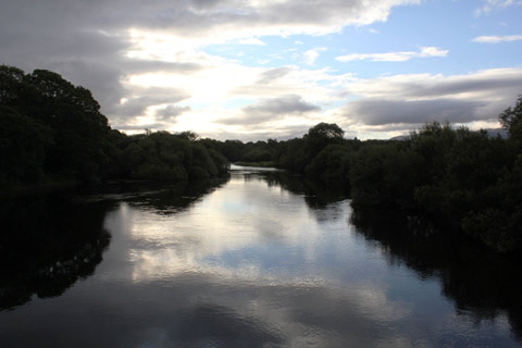 Dawn on the River Laune