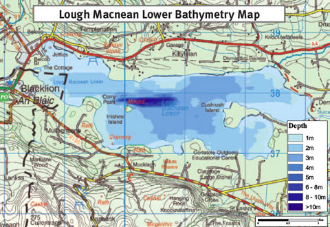 Lough McNean depths