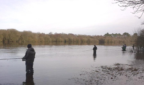 Early Season Salmon Fishing on the Laune