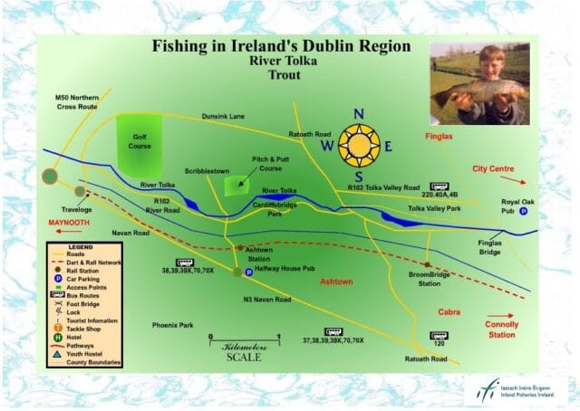 Trout fishing in Dublin