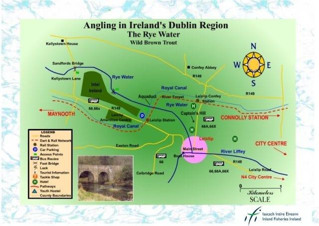 Fishing in Irelands' Dublin region