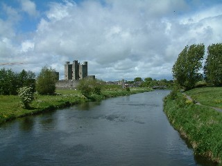 The River Boyne and Trim Castle, Co Meath