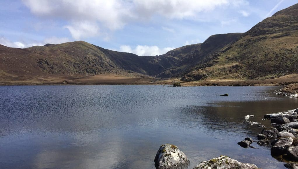 A lovely spring day on one of Waterville's mountain lakes
