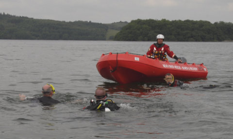 Pic5. Meath River Rescue team in action