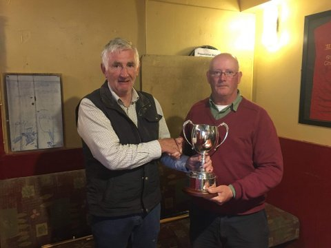 Martin Kinneavy and Gerry Dixon, winners of the Egan Cup C&R Cornamona Competition