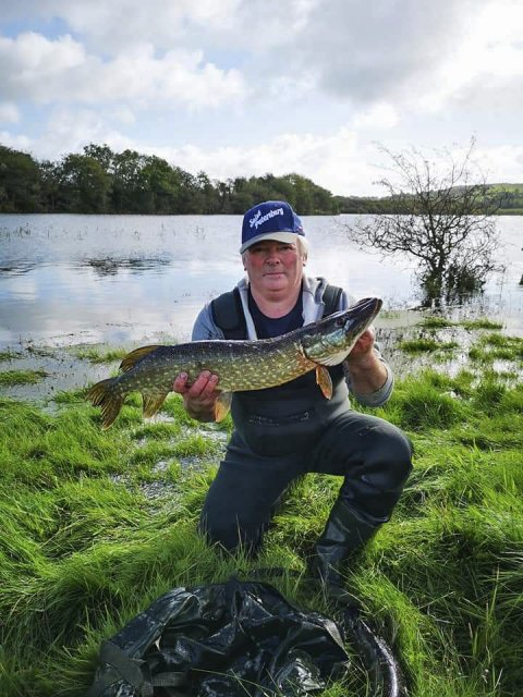 A nice pike prior to release