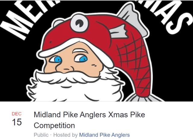 Midland Pike Anglers Xmas Pike Competition