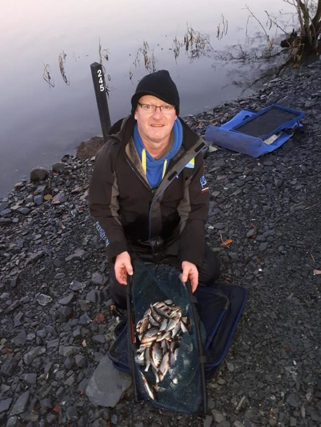Jim McAllister with 3kg
