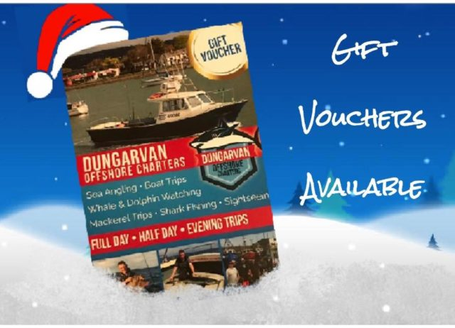 Treat someone to a unique experience of a day out with Dungarvan Offshore Charters in 2020