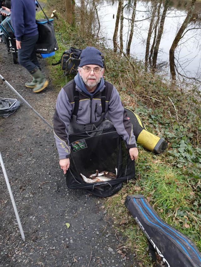 A small catch at O'Briensbridge