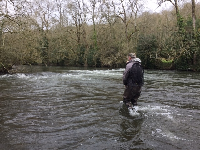Peter in the river