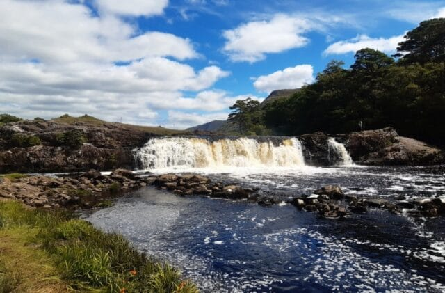 Majestic Aasleagh Falls on the Erriff Fishery