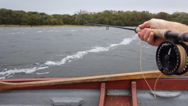 Fishing a drift
