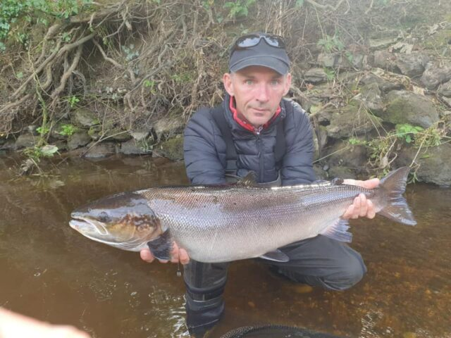 18lb blackwater salmon