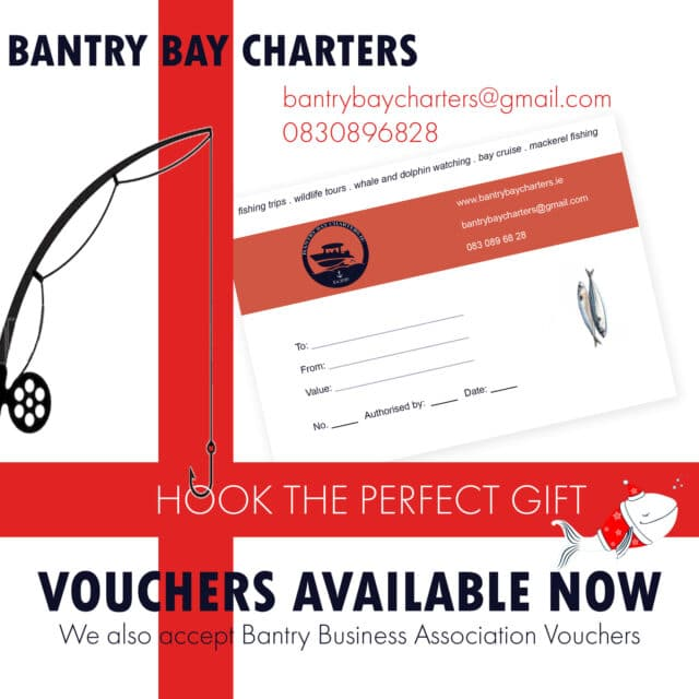 Gift vouchers from Bantry Bay Charters