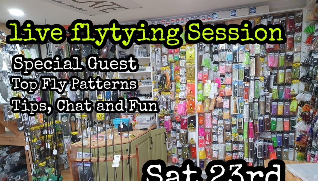 Fly tying live stream on 23/01/21 with Piscari Fly