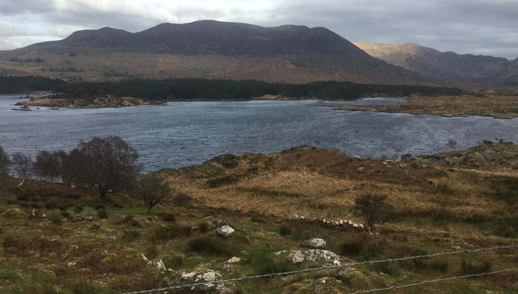 Lough Currane on 9 February 2021