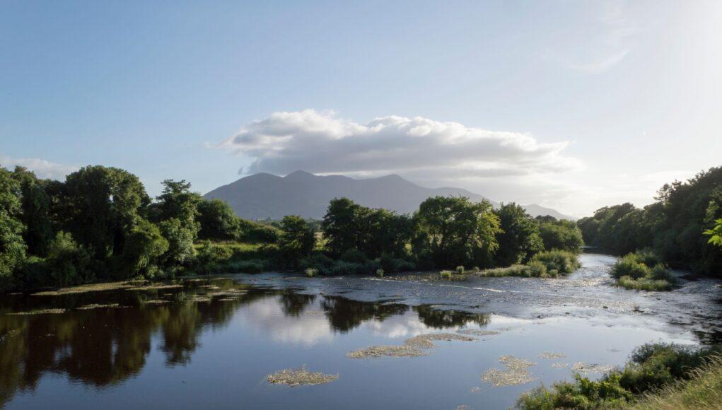 Flesk River in Killarney, Ireland