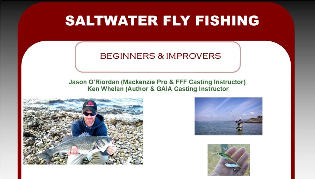 Saltwater fishing course