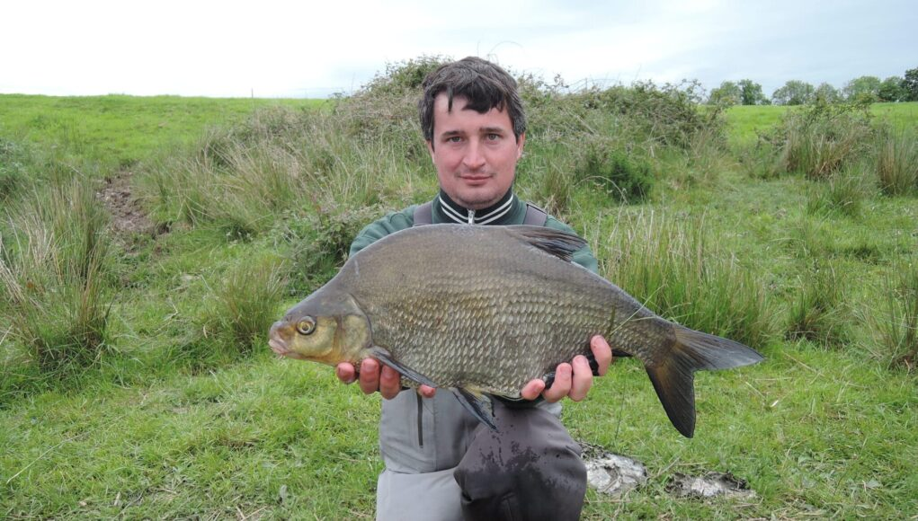 Nick with a fine Bream from his catch