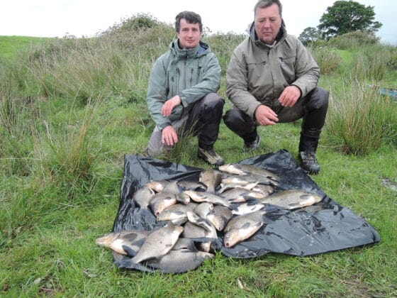 Alain and Nick start to get into the Bream