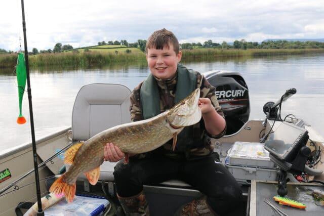 Birthday fishing