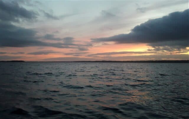 Lough Sheelin sunset