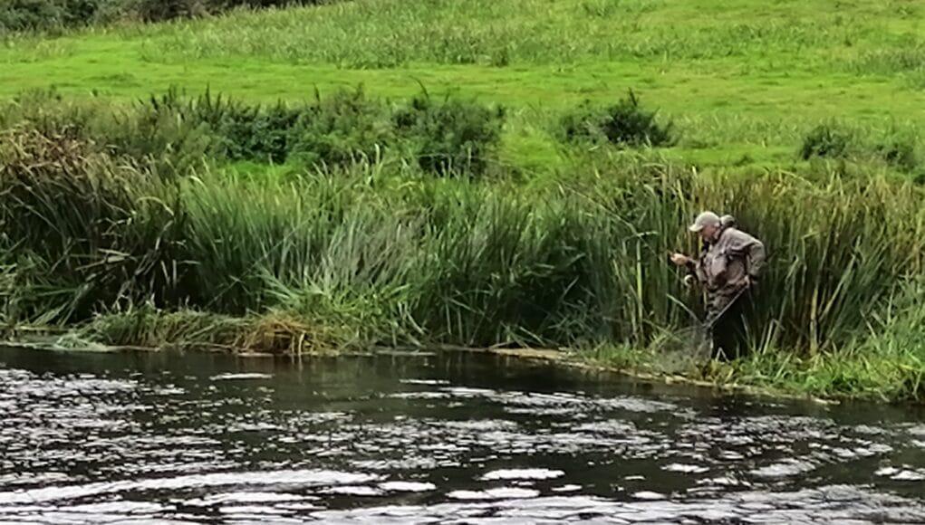 Salmon fishing on Ireland's River Boyne