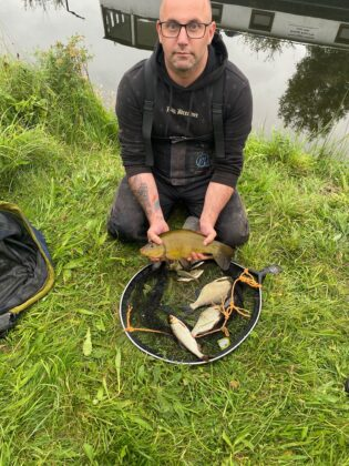 Tench and few other coarse fish